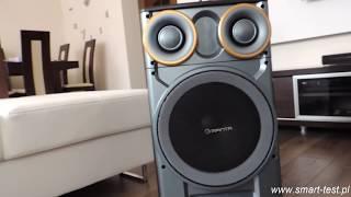 Głośnik Manta SPK5003 GHUL Karaoke Power Audio -UNBOXING /RECENZJA mocnego głośnika bluetooth