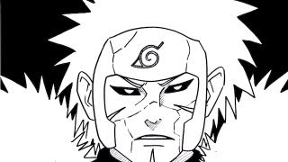 HOW TO DRAW TOBIRAMA SENJU 千手 扉間
