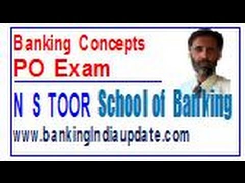 Banking Concepts for Bank PO Exam   1