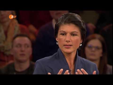 Markus Lanz vom 21 04 2016 ZDF   Zu Gast u  A   Sahra Wagenknecht & Jan Frodeno HD