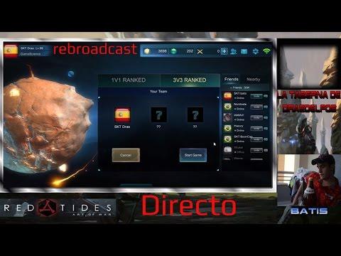 Directo Art of War: Red Tides - Noticias y rankeds 3vs3 - Probamos un juego nuevo