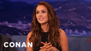 "Camilla Luddington Loved ""William And Kate""  - CONAN on TBS"