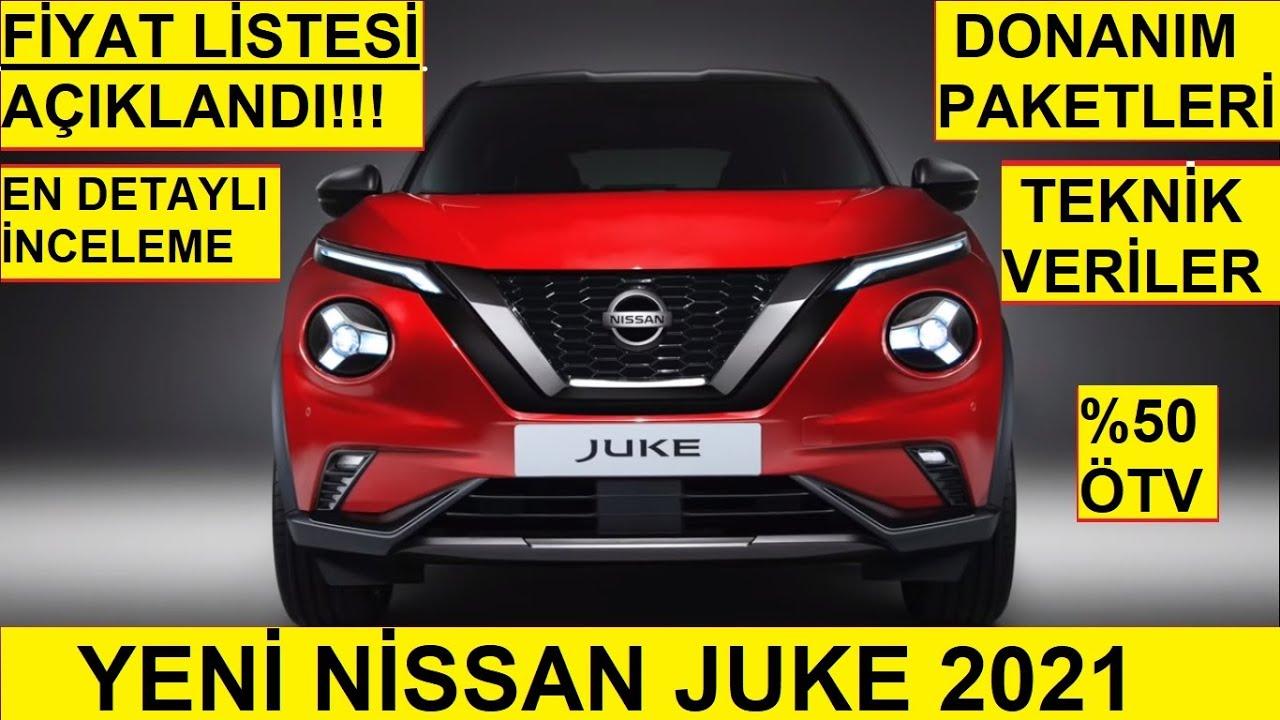 Yeni Nissan Juke 2021 Fiyat Listesi   Donanım Paketleri ...