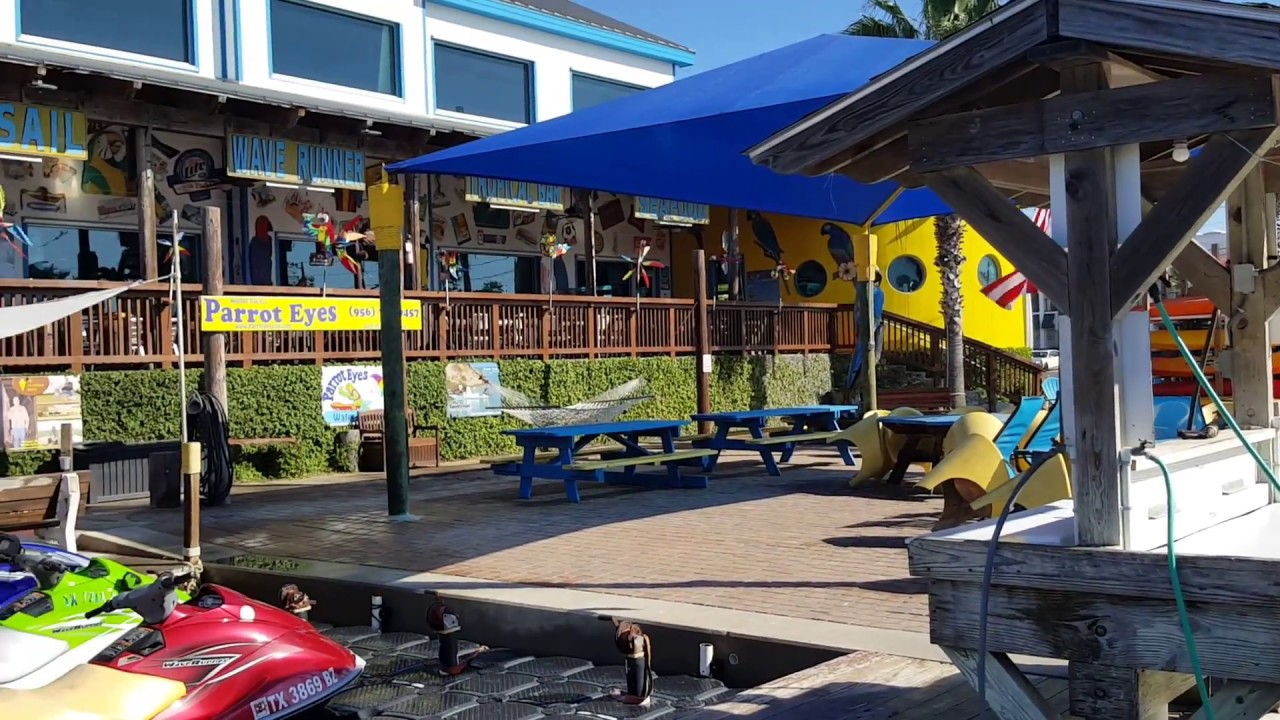 South Padre Island Parrot Eyes Water Sports And Restaurant