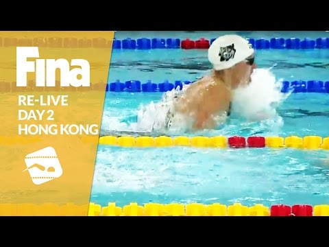 Re-Live | Day 2 - FINA/airweave Swimming World Cup 2016 #9 Hong Kong
