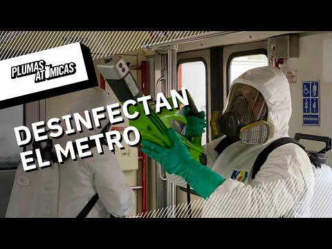 Metro contra Coronavirus | El Metro de la Ciudad de México se desinfecta todos los días