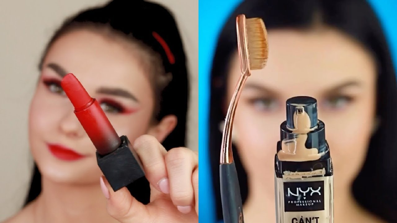 Best Makeup Transformations 💋 Lipstick Tutorials, Eyes Makeup, Makeup Tips Every Girl Should Know
