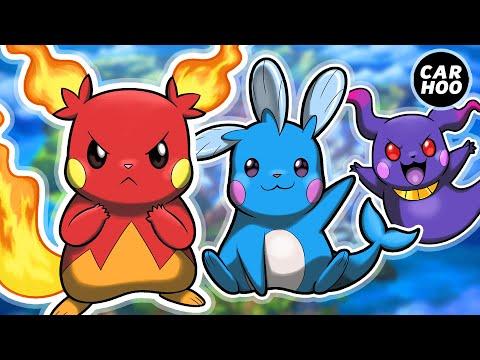 18 Types of Pikachu