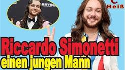 Riccardo Simonetti einen Freund hatte ? Was hast du im Interview gesagt? Das sind gute Neuigkeiten