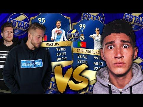 FIFA 17: F8TAL TOTS vs PHINEAS ⚡ 1. Gruppenspiel 🔥