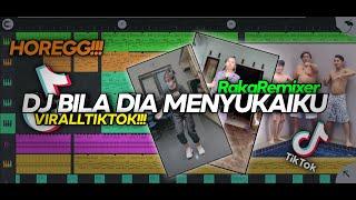 VIRALL TIKTOK!!! DJ BILA DIA MENYUKAIKU BASS HOREG!!! (Raka Remixer Remix)
