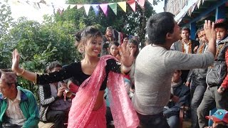 वाह ! यो पो हो शुद्ध नेपाली  पन्चे बाजा नाच, Beautiful dance by boy and girl at panche baja