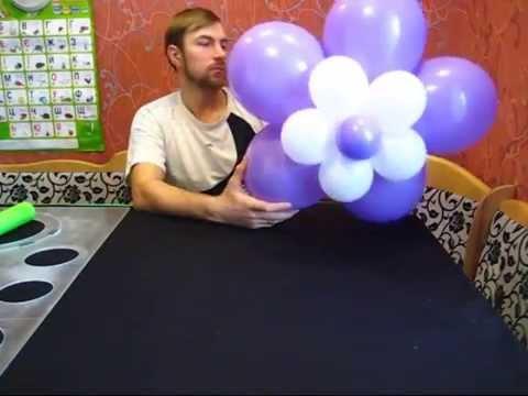 Как сделать из обычных шаров фото 449