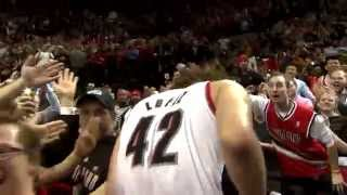 Trail Blazers Game 6 Celebration