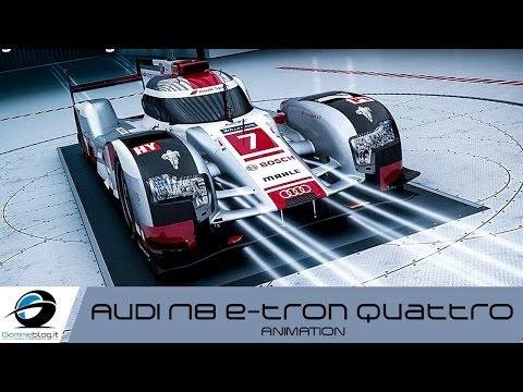 Audi R18 e-tron quattro | Animation - 2015 Le Mans 24 Hours