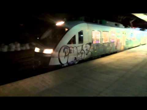 Siemens Desiro departing Thessaloniki station 20150913 21.50
