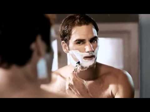 Roger Federer - Gillette commercial 2012 - YouTube