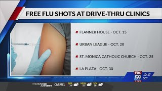 IU Health setting up free flu shots at drive-thru clinics