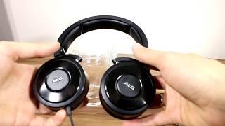 AKG k618dJ headphones SPL dB test + quick review