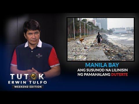 Matapos ang Boracay, Manila Bay sunod na lilinisin ng pamahalaan ni PDU30