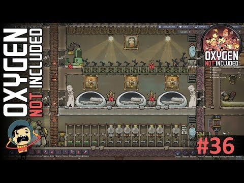 OXYGEN NOT INCLUDED #36 Chambre tout confort