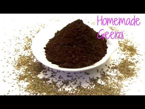 homemade geera jeera roasted cumin powder youtube