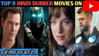 Hollywood top 9 hindi dubbed action movies available on YouTube