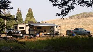 Shell Creek Campground - Bighorn National Forest - Wyoming
