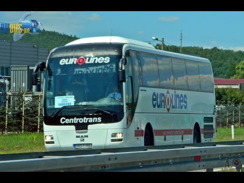 [Video] Driving in Man Lion's Coach of the company Centrotrans-Eurolines
