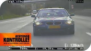 Autobahnpolizei fasst Raser: Fliegender Holländer im 5er BMW! | Achtung Kontrolle | kabel eins