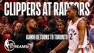 Hoop Streams: Previewing Clippers at Raptors | ESPN