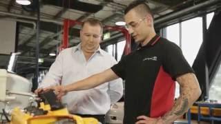 World class automotive training.