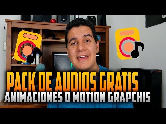 Pack de sonidos gratis para Motion Grapchics