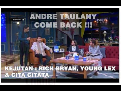 Cupikan Andre Taulany Come Back dari Kasusnya