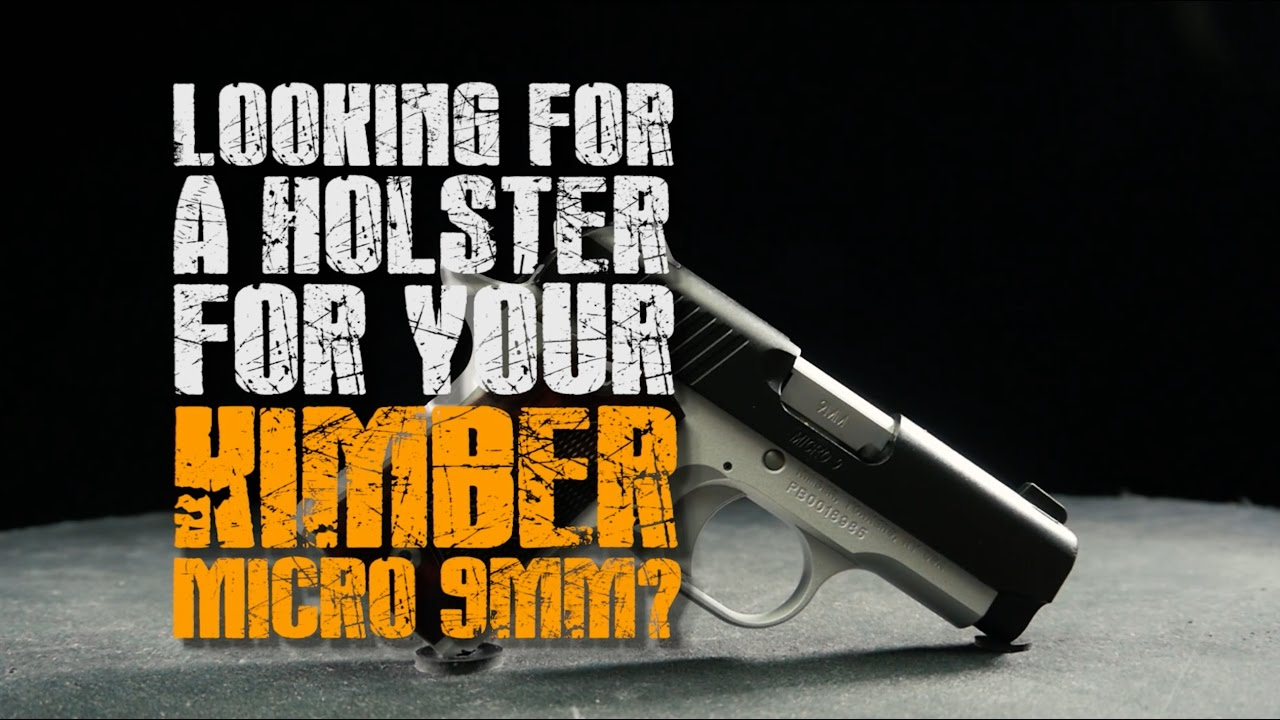 Best Way To Carry Kimber Micro 9