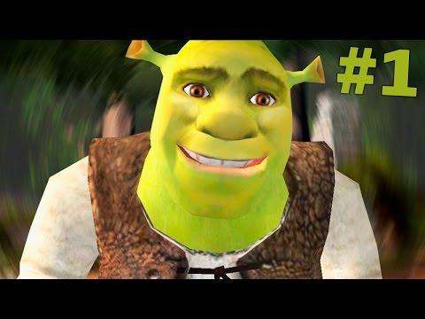МОЯ ПЕРВАЯ ИГРА! - Shrek 2 прохождение на русском #1