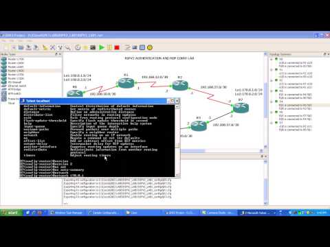 Routing Information Protocol RIPv2 Lab 1 RIPv2 Basics and Authentication