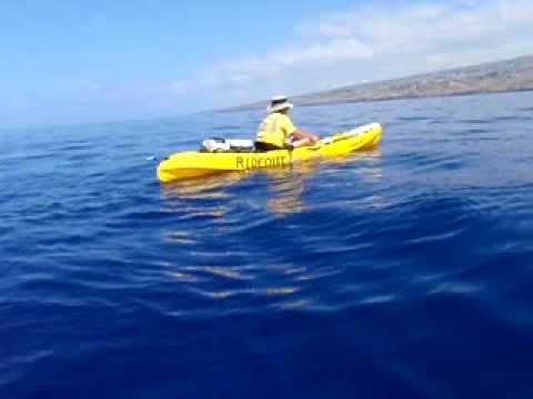 Kayak fishing in hawaii the one that didnt get away for Kayak fishing hawaii