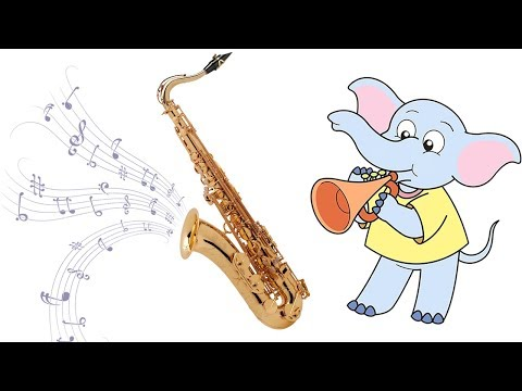 Learn Musical Instruments And Sounds For Kids The Woodwind Section Saxophone Bassoon Clarinet Flute