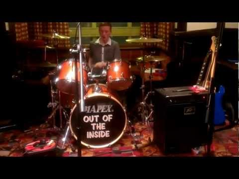 18 minute drum solo - by James Kempton (15 years old)