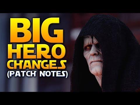 BIG HERO CHANGES, AFK FARM FIX & MORE! - Battlefront 2 Patch Notes