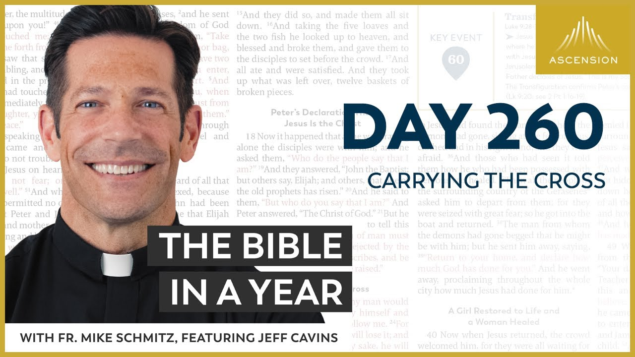 Download Day 260: Carrying the Cross — The Bible in a Year (with Fr. Mike Schmitz)
