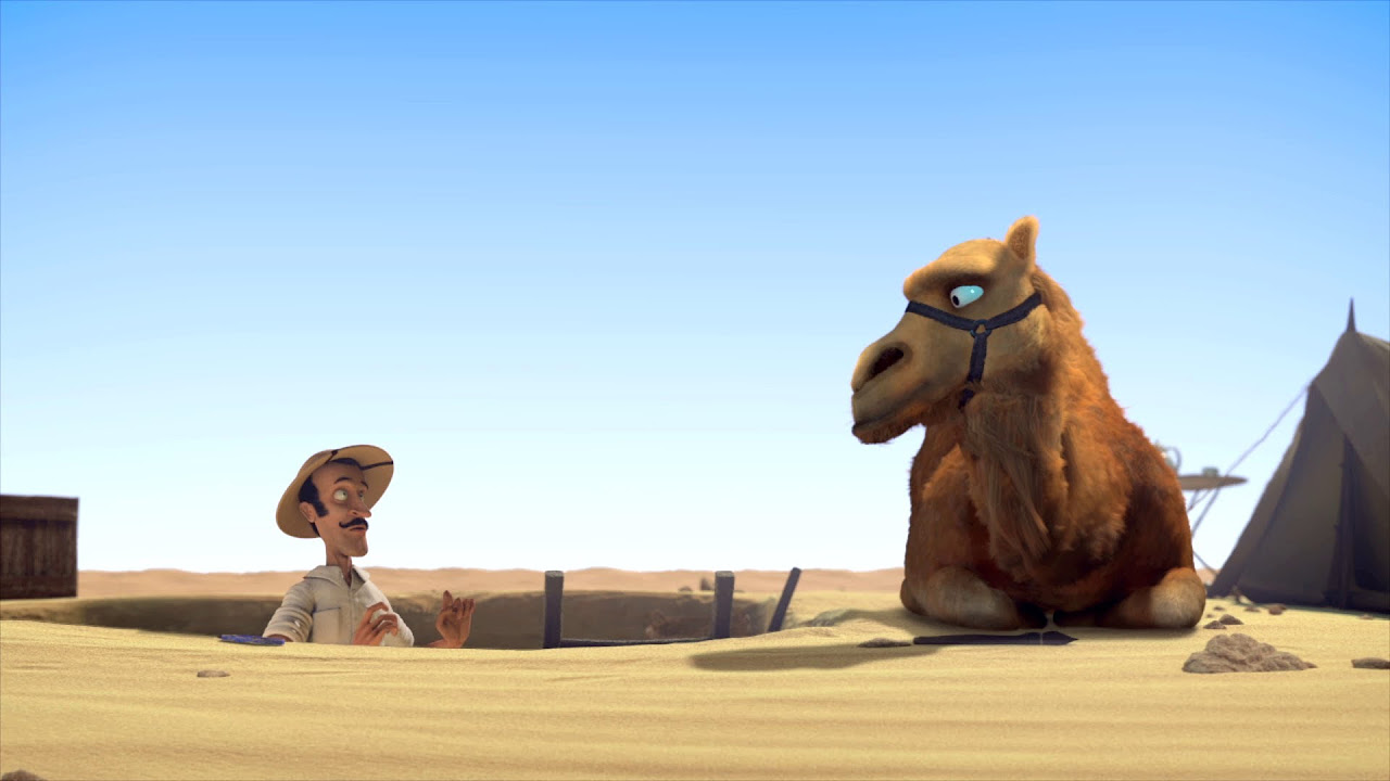 The Egyptian Pyramids  Funny Animated Short Film Full HD