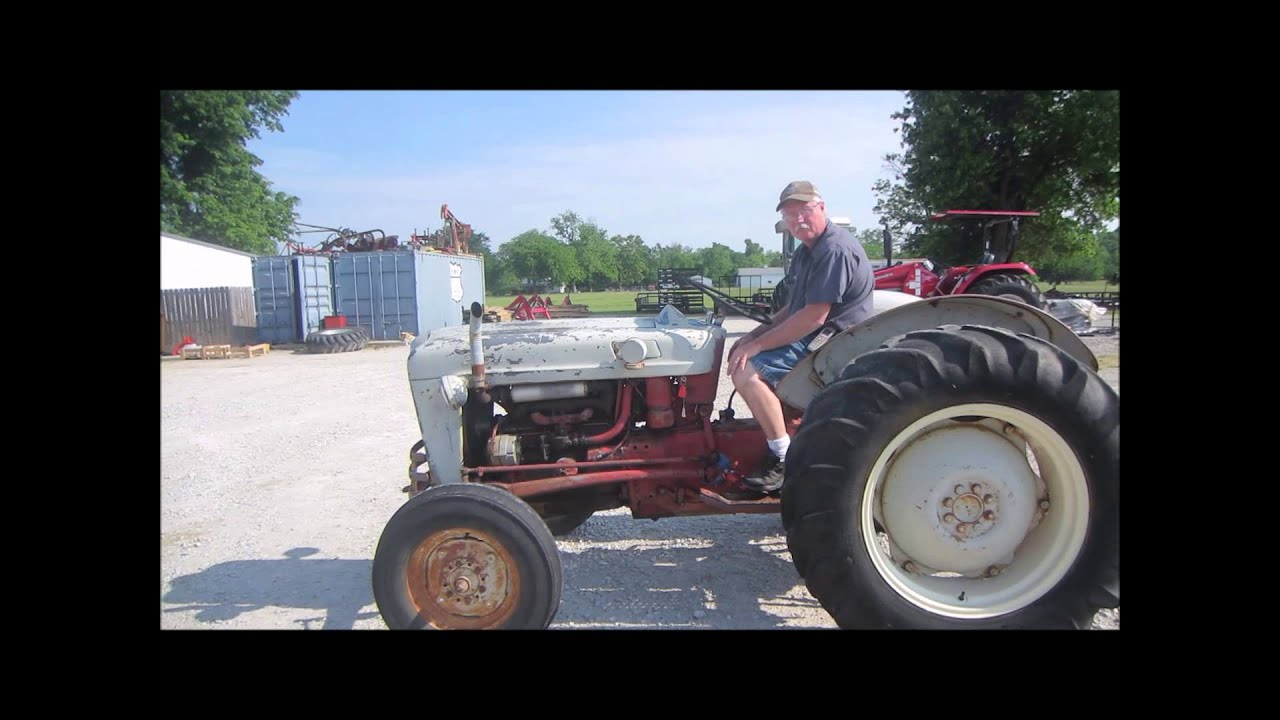 Ford 600 Tractor Start : Ford tractor for sale sold at auction june