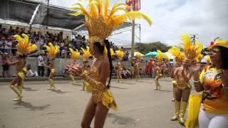 Batalla de Flores en Carnaval de Barranquilla 2015