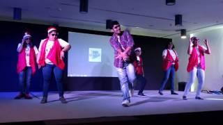 group dance 2016 christmas celebration anz