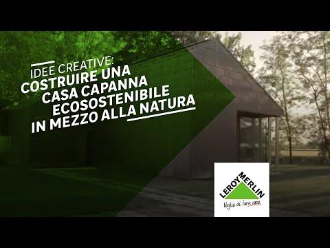 La casa capanna idee creative per la casa di leroy for Stili per la casa