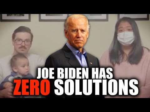 Joe Biden Stumped By COVID-19 Patient That Asks How She'll Pay Rent & Feed Family
