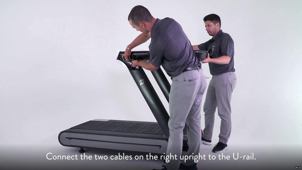 Peloton Tread Assembly - YouTube