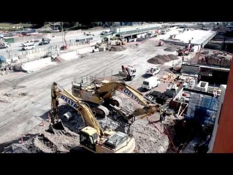 Airport Link: Kedron Back fill Time Lapse